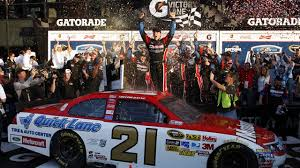 Bay wins the 2011 Daytona 500. Hoisting the trophy is easy. Spending 15 years preparing for it is hard! Image: USA Today