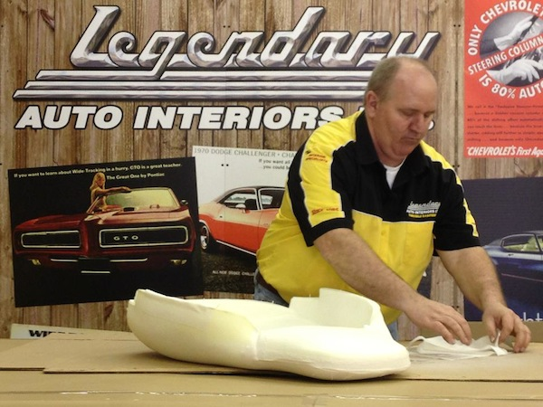 Ron Halbritter From Legendary Auto Interiors ...