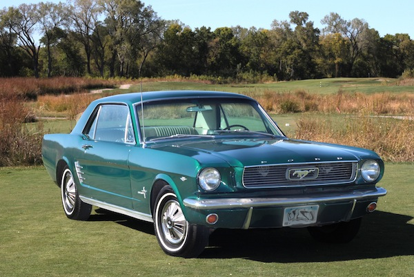 famous 66 mustang coupe