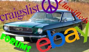 1966 Mustang as seen on eBay