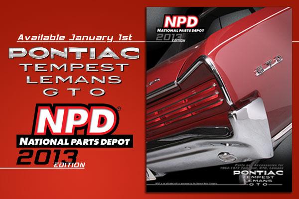 NPD GTO Catalog Cover