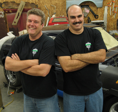 Jeff and Vinnie of AutoRestoMod