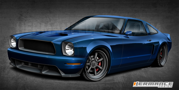1976 Mustang by Hermance Design