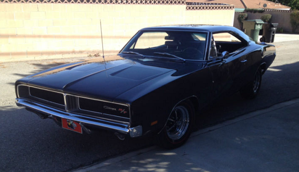 Weekly Ebay Pick Black On Black 600 Hp 69 Charger With A 4 Speed