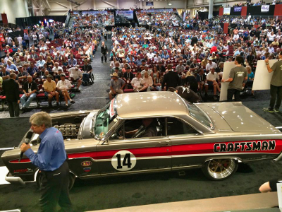 Hot Rod Chassis Craftsman Comet at Barrett Jackson