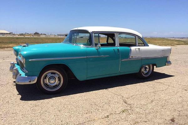 Larry Callahan's 55 Chevrolet