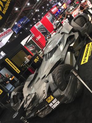 Magnaflow's Batmobile display at SEMA