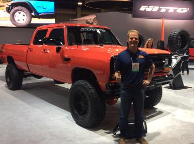 Nitto Dodge Crew Cab Truck SEMA 2016