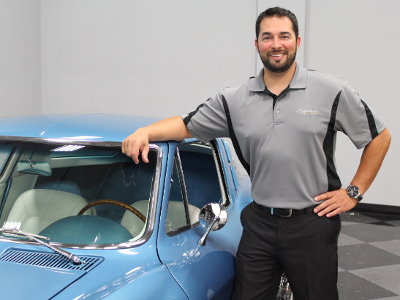 Mike Fadel, Sales Manager at Streetside Classics