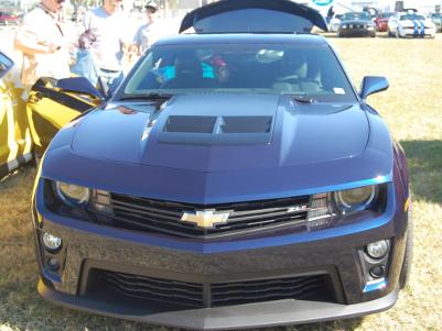 Blue ZL1 2012 Camaro