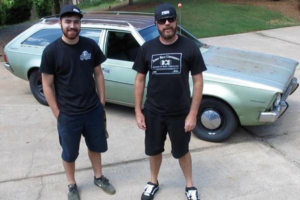 Finnegans Garage Green Hornet