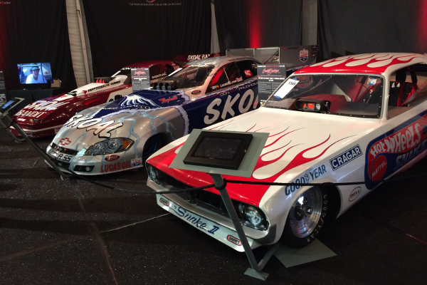 Don Prudhomme's Snakecars at Barrett Jackson